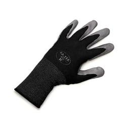6 Pairs Black Atlas Showa 370 Nitrile Glove MEDIUM Garden Wo