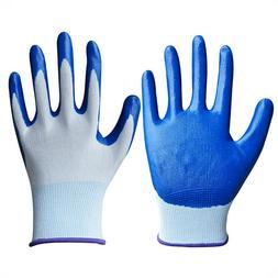 1 Pair garden <font><b>gloves</b></font> household finger <f