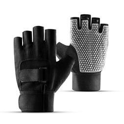 1 pair Unisex Half Finger <font><b>Gloves</b></font> breatha