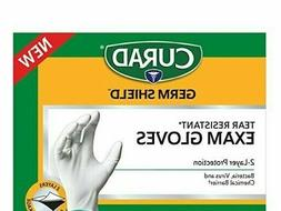 1 pr CURAD GERM SHIELD TEAR RESISTANT MEDICAL EXAM GLOVES BA