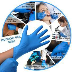 10-1000 pcs Non-Latex Nitrile Gloves Powder Free Small Size