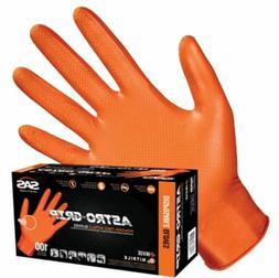 100-1000 SAS Safety Astro Grip 66574 7mil Nitrile Gloves, Or