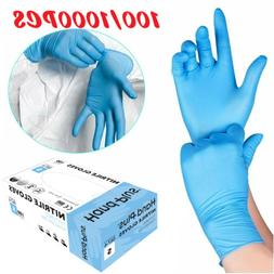 100/1000X Disposable Gloves Nitrile Exam Free Strong Non Vin