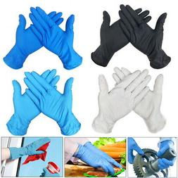 100 disposable gloves medical exam rubber mechanical