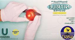 100 Nitrile Gloves Food Grade  UniSize: XL, Large, Medium
