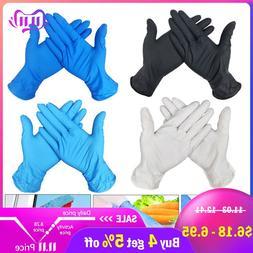 100 PCS 3 Color Disposable <font><b>Gloves</b></font> Latex