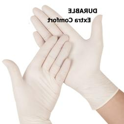 100 PCS Latex & Latex Examination & Nitrile Gloves Powder Fr