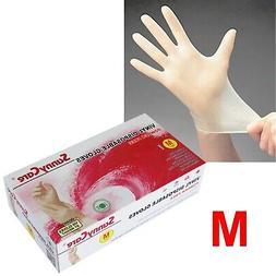100 SunnyCare Powder Free Vinyl Gloves Food Service  🔥 M