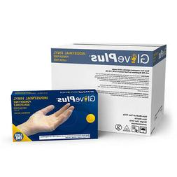 1000/cs GlovePlus Disposable Powder-Free Vinyl Industrial Gl