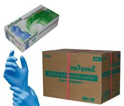 SunnyCare 1000/Cs Nitrile Disposable Gloves Powder Free