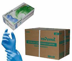 SunnyCare 1000 Nitrile Disposable Gloves Powder Free   XL