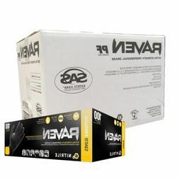 1000 raven powder free nitrile disposable glove