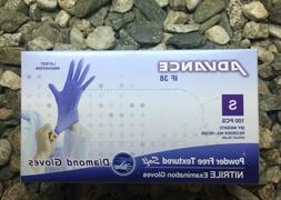 1000 x Dental Gloves Soft Nitrile Powder-Free Textured Small