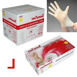 1000pcs Vinyl Gloves Powder Free 🔥  🔥 Large