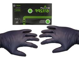 100Count✔  Black Nitrile Gloves 4mil thick - X-Large -by S
