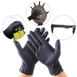 100Pcs Comfortable Rubber Disposable Mechanic Nitrile Gloves