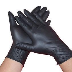 100Pcs Comfortable Rubber Disposable Mechanic Nitrile Gloves
