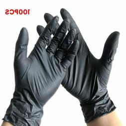 100Pcs Disposable Gloves Latex Nitrile Rubber Household Kitc