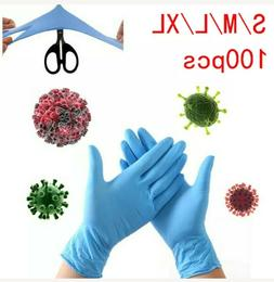 100pcs Nitrile/Vinyl Hand Protection Gloves M/L/XL *FAST SHI
