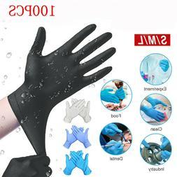 100pcs workshop comfortable mechanic nitrile gloves househol