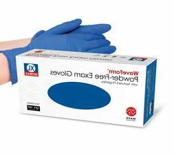 100x 2000/Cs Disposable Nitrile Exam Glove Powder Free Stron