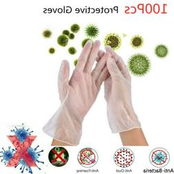 100X Disposable Medical Gloves Surgical Nitrile POWDER LATEX