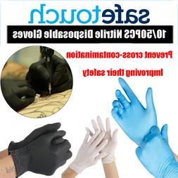 10PCS Nitrile Gloves Disposable Gloves Cleaning Supplies Pow