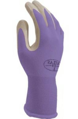 12 pack Showa Atlas NT370 nitrile garden gloves-assorted col