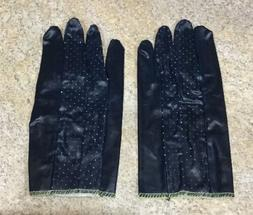 Pair Industrial Protection Gloves Nitrile Coating Cotton Fa