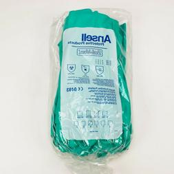Ansell Sol-Vex Nitrile Gloves 37-155 Size 9 Green New Old S