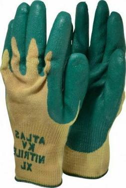 12 PR Atlas Size XL  ANSI Cut Level 3, Nitrile Coated Gloves