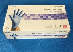 McKesson 14-684 Confiderm Nitrile Exam Gloves, Powder-Free,