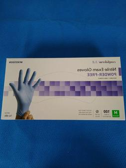 McKesson #14-686 Nitrile Exam Gloves, Nitrile, Powder-Free,