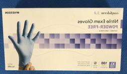 McKesson, #14-690, Nitrile Exam Gloves, XL, 100 Gloves