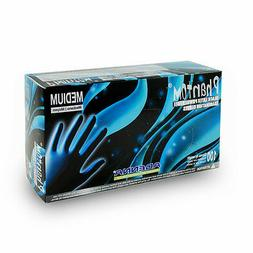 1box. Adenna Phantom Latex PF gloves. Sz: LARGE, Black.