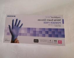200 Gloves  McKesson Confiderm 3.5C Nitrile Exam Gloves powd