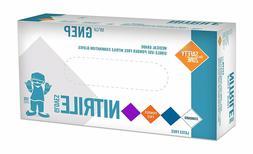 Premium Blue Medical Nitrile Exam Latex Free Disposable Glov