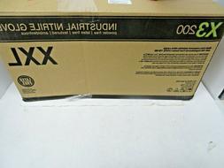 2000/cs AMMEX X3D Disposable Powder-Free Nitrile Industrial
