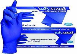 2000 PREMIUM SKINTX COOL BLUE NITRILE EXAM POWDER-FREE GLOVE