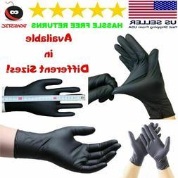 20x40x 60 x Black PVC & Latexfree Gloves Nitrile Piercing Ta