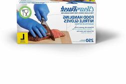 250 Medline Clear Touch Food Handling Nitrile Gloves Latex a