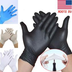 3/20/40 Pcs Latex Rubber Disposable Mechanic Nitrile Gloves