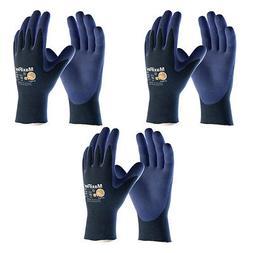 3 Pack MaxiFlex® Elite 34-274 Nitrile Grip Gloves Sizes XS-