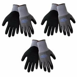 3 Pack Tsunami 500NFT®  Nitrile Grip Gloves Sizes XS-XXL