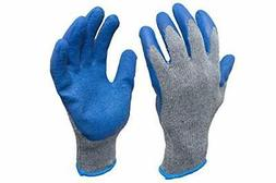 G F 3100 Knit Glove with Textured Latex Coating Gripping Glo
