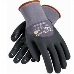 PIP 34-845 MaxiFlex Dotted Palms 3/4 Coat Nitrile Micro-Foam