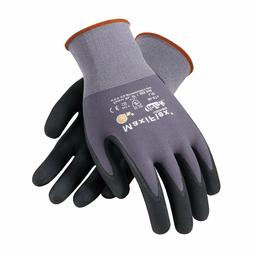 Maxiflex 34-874 Ultimate Nitrile Grip Work Gloves, Grey With