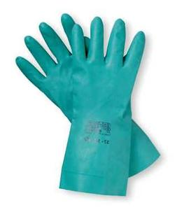 ANSELL 37-145 Sol-Vex Chemical Resistant Gloves,11 mil,PR