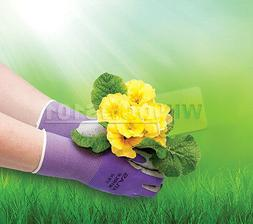 Atlas Showa 370 Nitrile Women's Gardening Gloves Equestrian