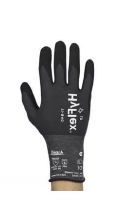 4 pair Ansell HyFlex 11-840 Foam Nitrile Gloves Size 9! Best